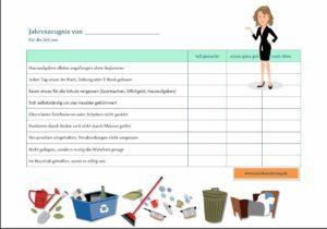 Abschlusszeugnis | Zeugnisvorlage | Jahreszeugnis | Halbjahreszeugnis