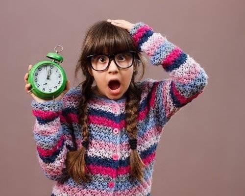 Uhr lernen: Zeitgefühl bei Kindern