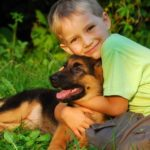 Bildergeschichte mit Hund