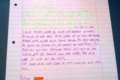 Brief schreiben 5. Klasse