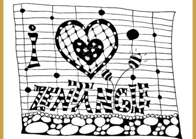 Herz Zentangle