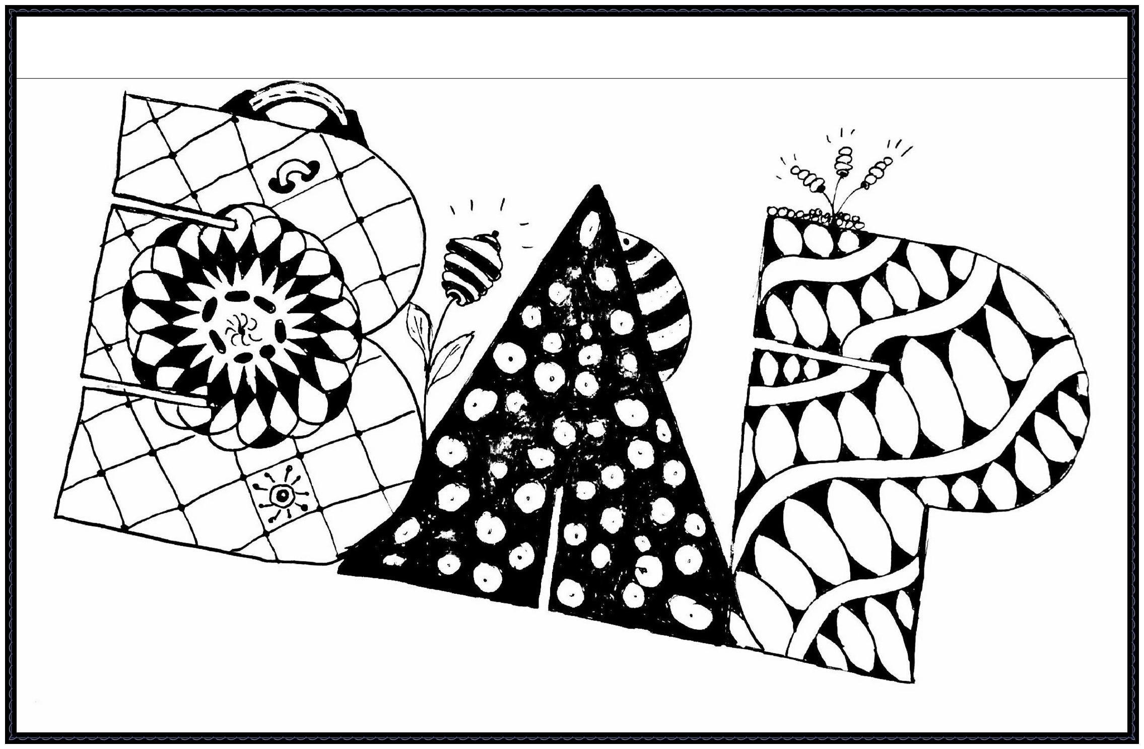 Zentangle Muster Lernfoerderung Kostenlose Expertentipps Schule