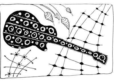 Gitarren Zentangle