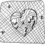 Zentangle Herz