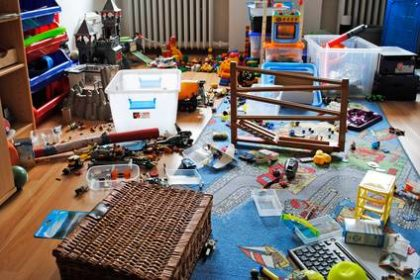 Chaos in the children's room