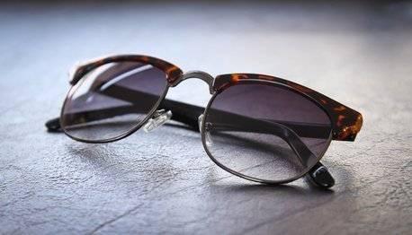 Sonnenbrille für das Reisetagebuch