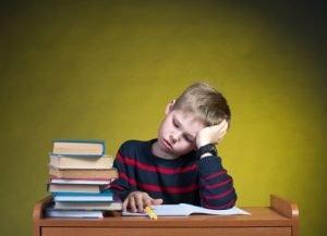 Intelligenz Test bei Kindern