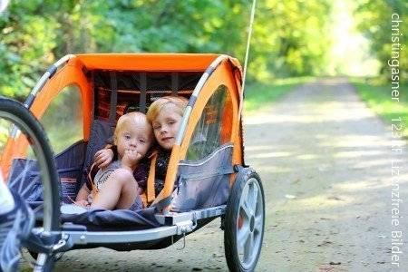 Spot on: Kinderzelt auf vier Rädern