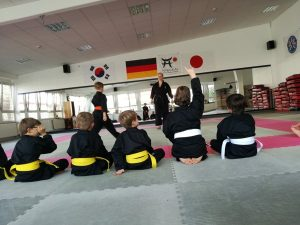 Training bei Nibukai