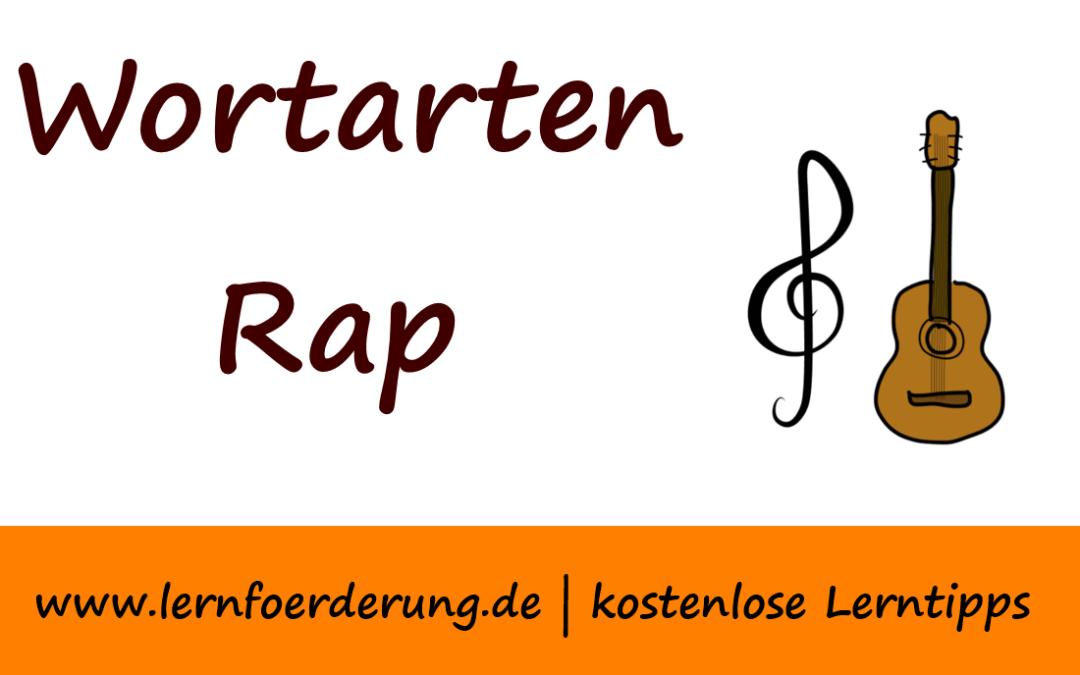 Wortarten-Rap: So einfach lernen