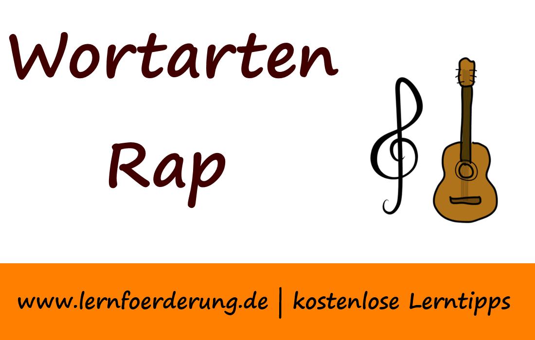 Wortarten Rap