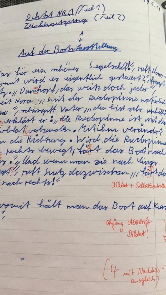 Mit diesem Deutsch Wissen Test die Leistungen prüfen
