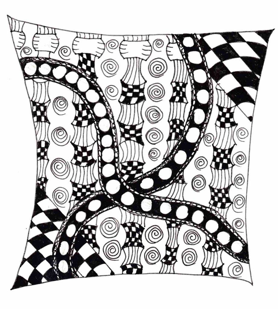 Zentangle Kiossen