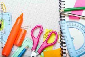 Schulsachen für den Schulstart