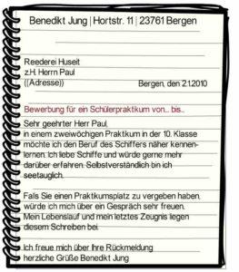 Aufsatz schreiben bewerbung 62715 jura