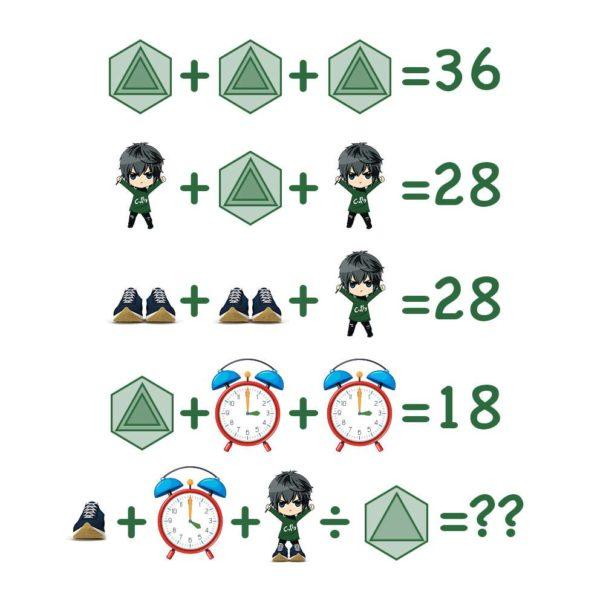 Mathe Rätsel Schwer