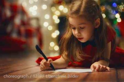 Weihnachtsmann schreiben