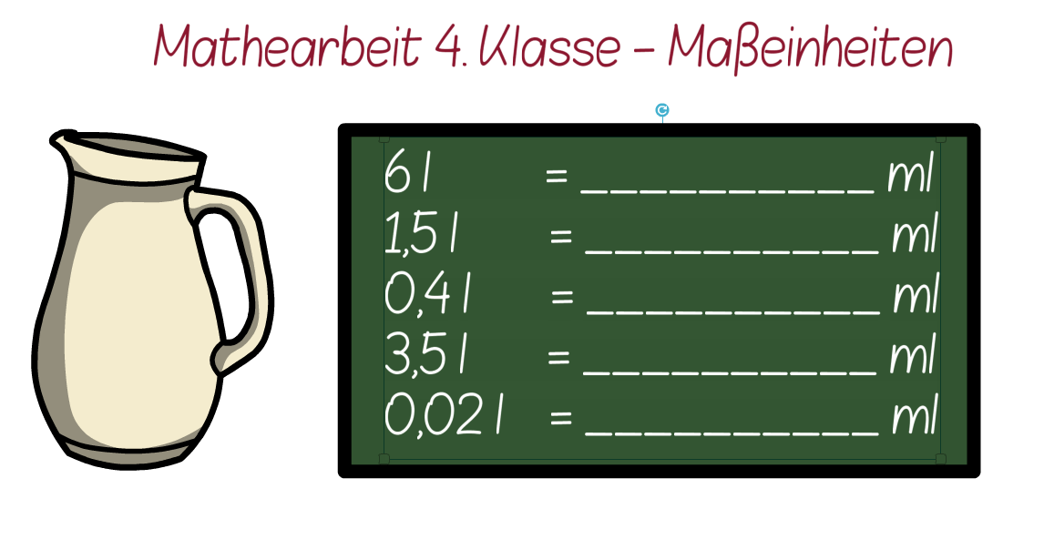 Klassenarbeit Mathe Klasse 4