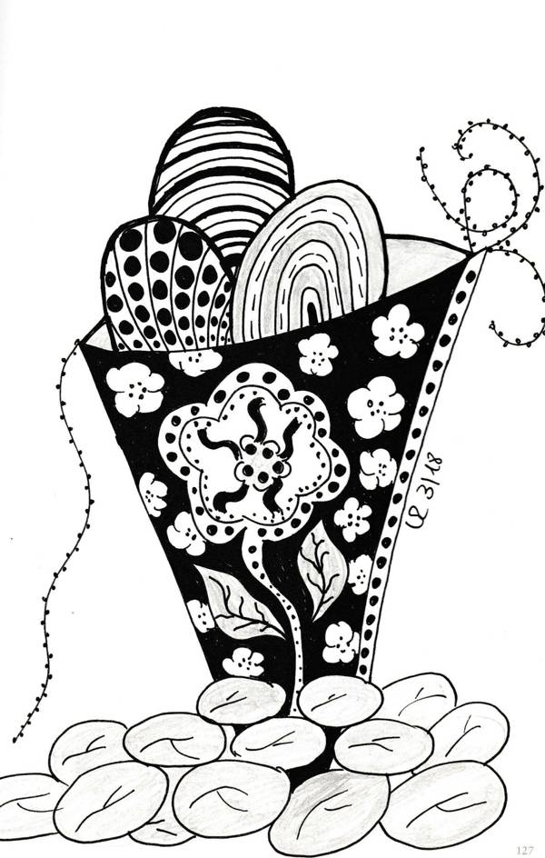 Füllhorn Zentangle