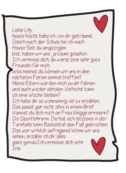 Einen Personlichen Brief Schreiben Deutsch Klasse 5 12
