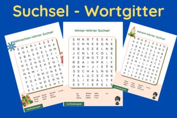 Suchsel - Wortgitter