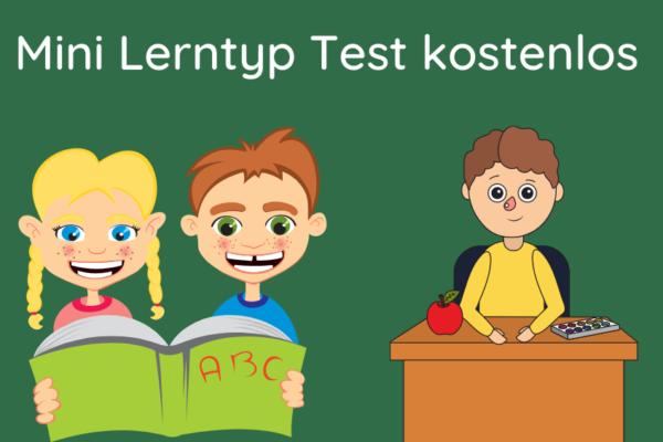 Lerntyp Test kostenlos